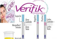 teste de gravidez verifik