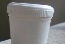 coletor universal, pote de coleta de amostras