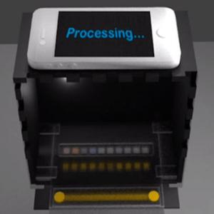 equipamento para análise de urina usa smartphone