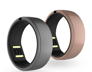 anel que monitora atividades físicas
