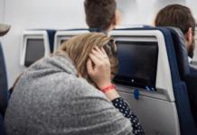 Dor no ouvido durante voo