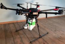 drones para espalhar mosquitos estéreis